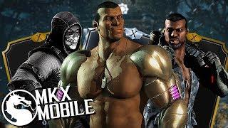 СИЛЬНАЯ КОМАНДА КЛАССИЧЕСКОГО ДЖАКСА ИЗ ОБНОВЛЕНИЯ 1.18 • Mortal Kombat X Mobile