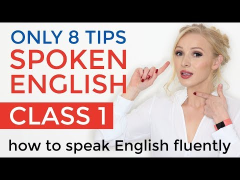 Spoken English Class 1 | How to Speak Fluent English - Beginner to Advanced Speaking Practice