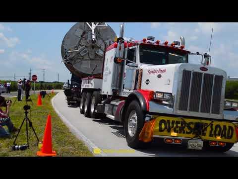 Jak SpaceX přepravuje rakety Falcon
