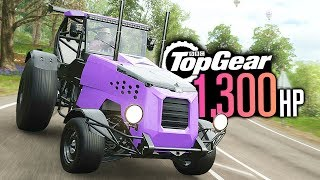 Forza Horizon 4 - 1300HP Top Gear TRACK-TOR Build!