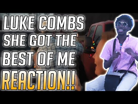 Luke Combs - She Got The Best Of Me Reaction Video