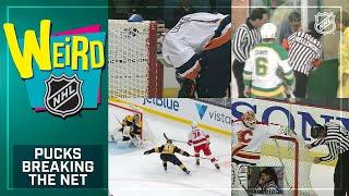 Weird NHL Presents: Pucks Breaking Through The Net