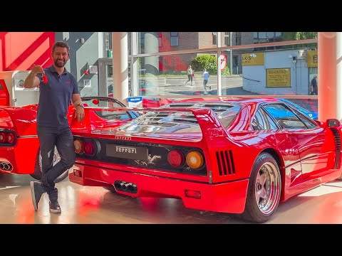 Swapping My F12 TDF for A Ferrari F40!?