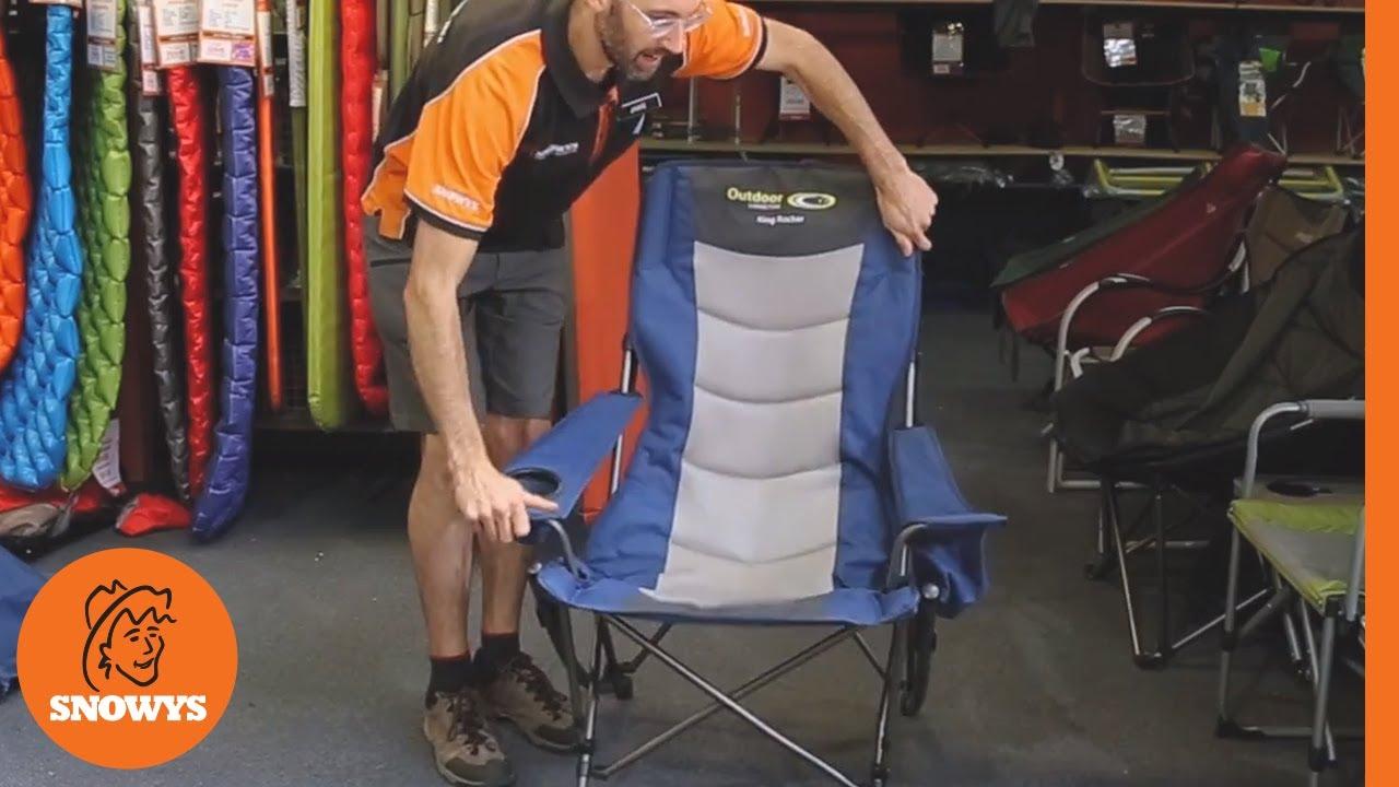 King Rocker Camp Chair
