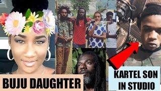 Buju Banton DAUGHTER Defends Her Brother   Vybz Kartel Son In STUDIO   Undisputed Champion