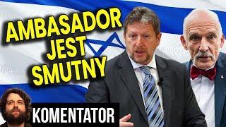 Zamknięta Ambasada Izraela w Polsce a Ambasador Smutny że Konfederacja w Sejmie – Analiza Komentator