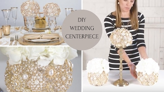 DIY Wedding Centerpiece | Wedding Decoration Ideas | DIY Bling Centerpieces