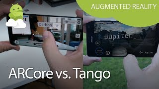 What's the difference between ARCore and Tango?