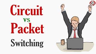 Circuit Switching vs Packet Switching | Circuit Switched Network vs Packet switched network