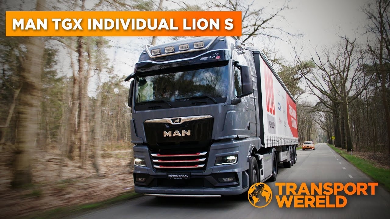 MAN TGX Individual Lion S | Truck Experience 2021