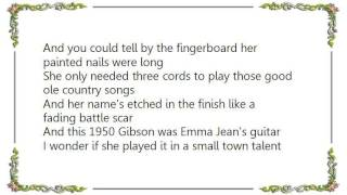 Chely Wright - Emma Jean's Guitar Snippet Lyrics