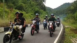 preview picture of video 'All Bikers Kayong Utara Kunjungi Istana Rakyat (Pendopo Bupati)'