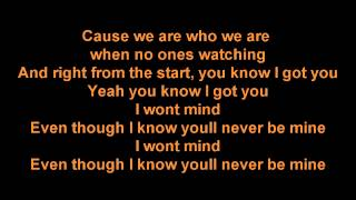 Zayn Malik - I Won't Mind (Lyrics) HD