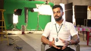 Did you see this super cute video of Virat Kohli The Indian
