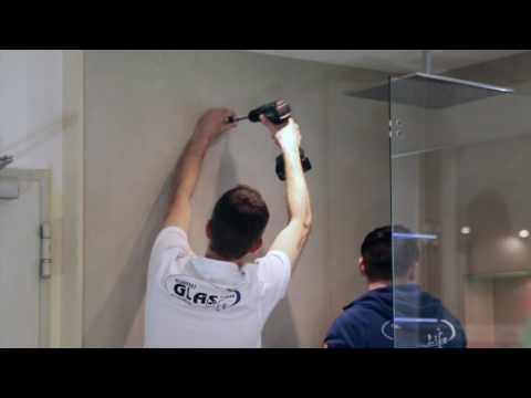 Ganzglasdusche | Glasdusche | Dusche | Hannover | Glaserei Glas-Life | Montage inkl. Spiegel