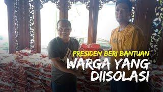 Di Tengah Duka, Presiden Salurkan Bantuan 2,5 Ton Beras untuk Warga Solo yang Jalani Masa Isolasi