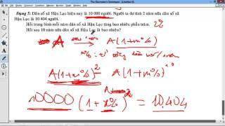 [CHUYÊN ĐỀ CASIO] Chương 7 Lãi suất 1 Quy tắc hình thành lãi suất và bài toán dân số đơn giản