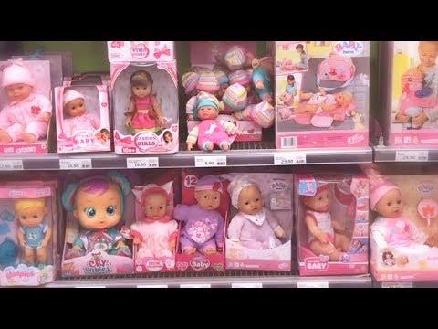 Куклы Пупсики идут в магазин игрушек. Покупки: много сюрпризов, кукла Беби Бон и Барби. Зырики ТВ