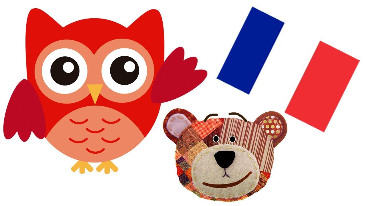 Nombres de animales del bosque en francés para niños
