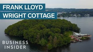 A Frank Lloyd Wright cottage on a private island is on sale for $14.9 million