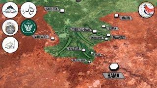 23 марта 2017. Военная обстановка в Сирии. Армия теряет позиции в Хаме. Русский перевод.