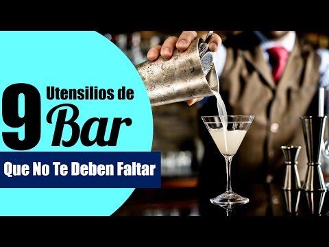 Los 9 Utensilios De Bar Que No Te Pueden Faltar | EMCEBAR