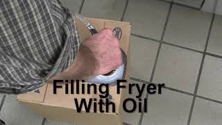 FRYMASTER 101: How to fill a Master Jet fryer with oil