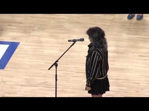 Kirstin Maldonado American national anthem