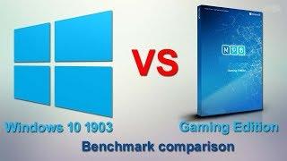 Windows 10 version 1903 vs Windows 10 Gaming Edition Benchmark Compression