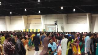Navratri Garba with Shree Atul Purohit Toronto 2016  sound provided by Stargate Sound & Light