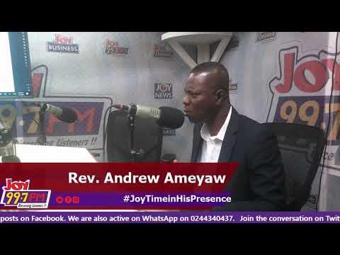 #JoyTimeInHisPresence on Joy FM (5-11-18)