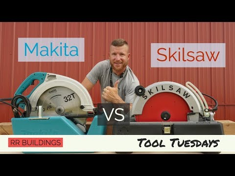 The Biggest Circular Saw Review: The Makita VS Skilsaw Beam Saws