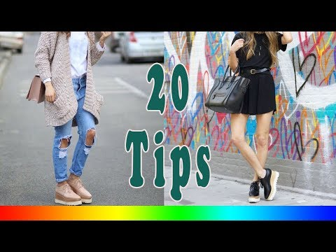 20 Style Tips On How To Wear Platform Brogues