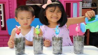 Funny Toddler Play Candy Lollipop Magic Nursery Rhymes