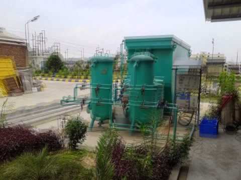 Sewage Treatment Plant - Through Plantation