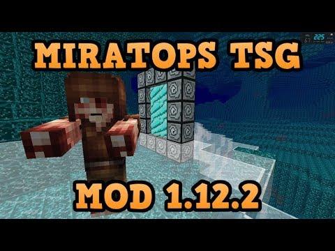 MIRATOPS TSG MOD (1.12.2)! UNA NUEVA DIMENSIÓN, ORES Y MOBS! Minecraft review en español 2018