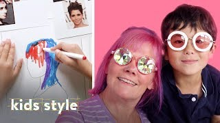 Kid Gives His Teacher A Wild New Hairstyle | Kids Style | HiHo Kids