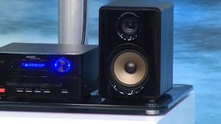 """auvisio HiFi-Micro-Stereoanlage """"MHX-560.hdmi"""" Bluetooth/DVD/CD/USB/FM"""