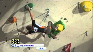 preview picture of video 'Climbing World Cup 2012 Lead Imst, AUT - Men's Finals'