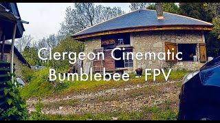 Mont Clergeon Cinematic - FPV drone Iflight Bumble bee