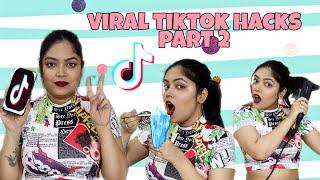 I TESTED Viral TikTok Life Hacks Part 2 **SHOCKING**I Tested TikTok Hack | Anku Sharma