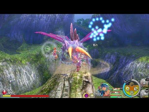 Ys VIII: Lacrimosa of Dana English Vita Gameplay