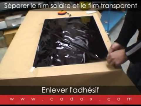 comment poser film solaire