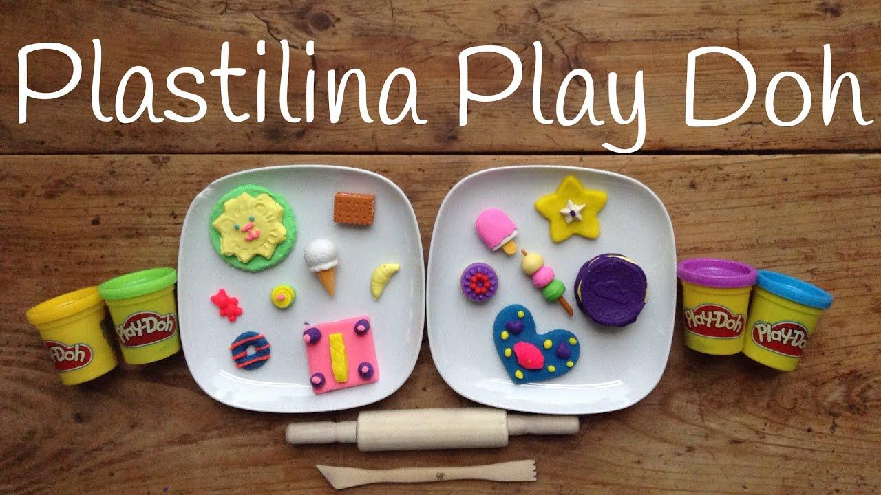 Play Doh máquina de GALLETAS | Figuras de plastilina fáciles de hacer