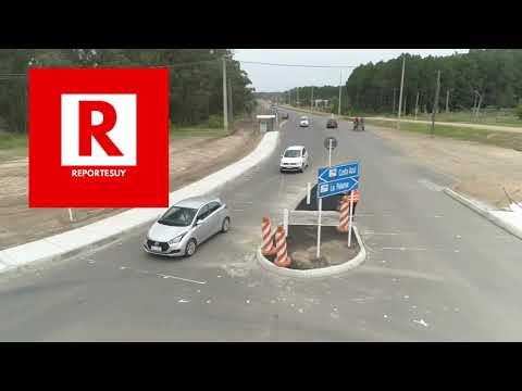 Inauguran obras en la Ruta 15 en el deprtamento de Rocha