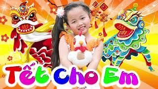 Tết Cho Em ♫ Nhật Lan Vy ♫ Nhạc Thiếu Nhi Vui Nhộn