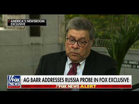 Attorney General William Barr told a network television interviewer that he wants answers on how the probe began into possible collusion between the Trump campaign and Russia. (May 17)