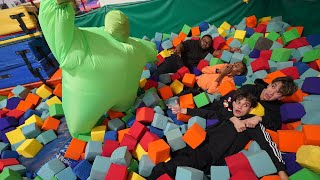 Last To Leave SCARY FOAM PIT WINS $10,000!
