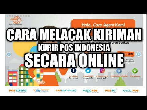 Cara Melacak Kiriman menggunakan Kurir Pos indonesia secara online