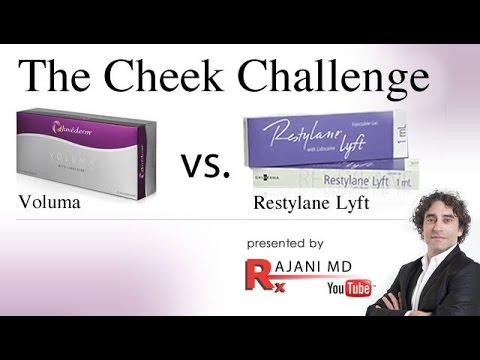 The Cheek Challenge with Cheek Filler Video